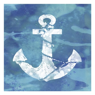Anchor Poster by Alonzo Saunders for $18.75 CAD