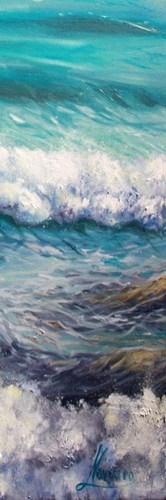 Ocean Rolls 3 Poster by Boho Hue Studio for $18.75 CAD