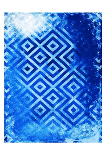 Bright Blue Patterns Poster by Jace Grey for $22.50 CAD