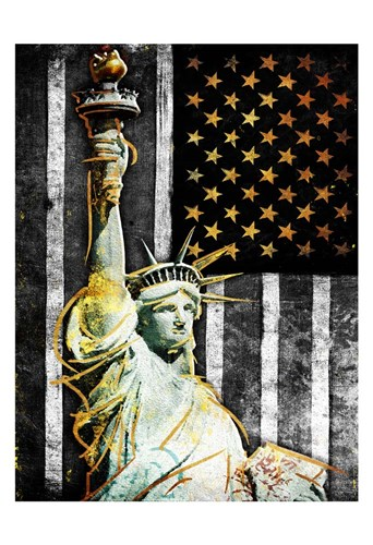 Statue Of Real America Poster by Jace Grey for $22.50 CAD
