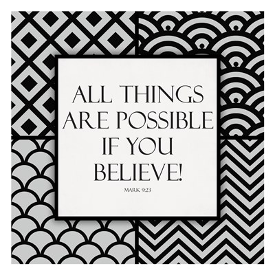 If You Believe Poster by Jace Grey for $18.75 CAD