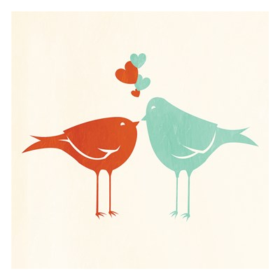 Birds In Love Poster by Jace Grey for $18.75 CAD