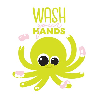 Wash Your Hands Poster by Jace Grey for $18.75 CAD