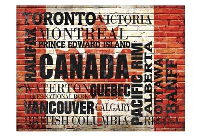 Canada Poster by Kimberly Allen for $22.50 CAD