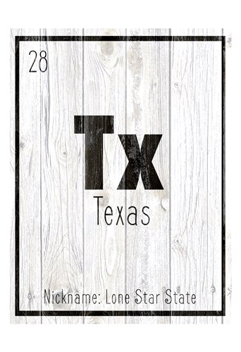 TX Poster by Kimberly Allen for $22.50 CAD
