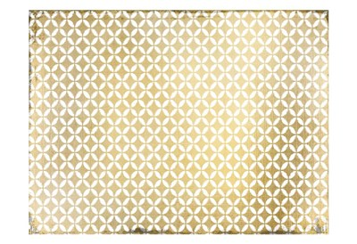 Gold Geo Poster by Kimberly Allen for $22.50 CAD