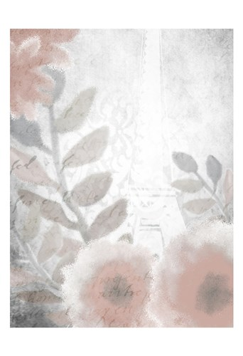 Dusty Rose 4 Poster by Kimberly Allen for $22.50 CAD