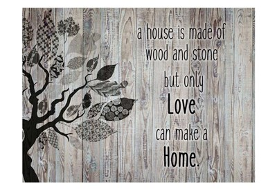 A House Is Made Poster by Kimberly Allen for $22.50 CAD