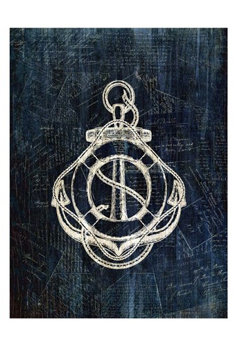 Inverted Anchors Away 3 Poster by Kimberly Allen for $22.50 CAD