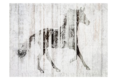 Barnwood Horse 2 Poster by Kimberly Allen for $22.50 CAD
