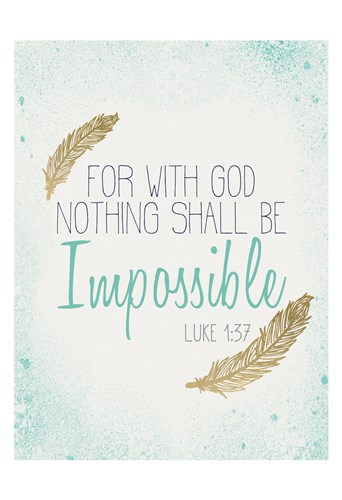 Impossible Poster by Kimberly Allen for $22.50 CAD