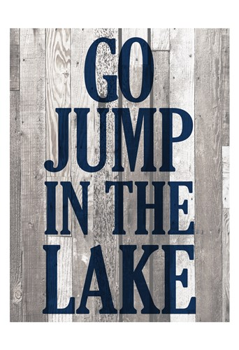At the Lake A Poster by Kimberly Allen for $22.50 CAD