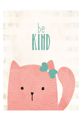 be Kind Poster by Kimberly Allen for $22.50 CAD