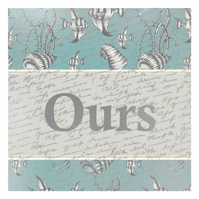 Ours Poster by Kimberly Allen for $18.75 CAD