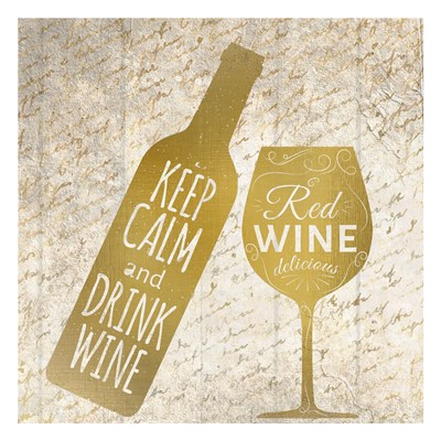 Red Wine Poster by Kimberly Allen for $18.75 CAD