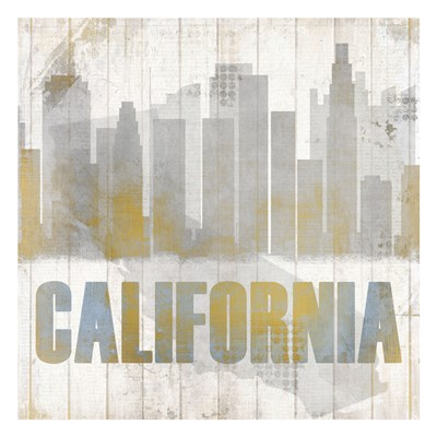 California Poster by Kimberly Allen for $18.75 CAD