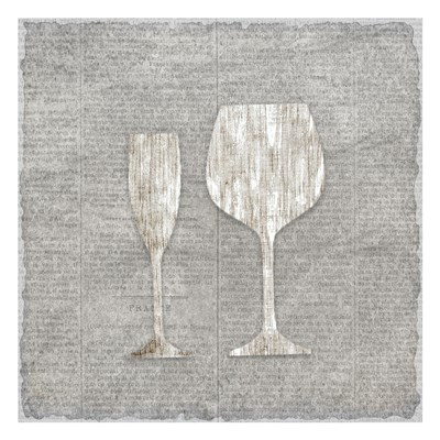 Neutral Wine 3 Poster by Kimberly Allen for $18.75 CAD