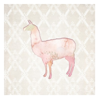 Llama Love 2 Poster by Kimberly Allen for $18.75 CAD