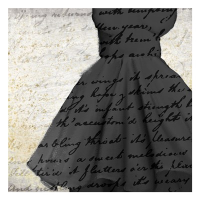 Little Black Dress Poster by Kimberly Allen for $18.75 CAD