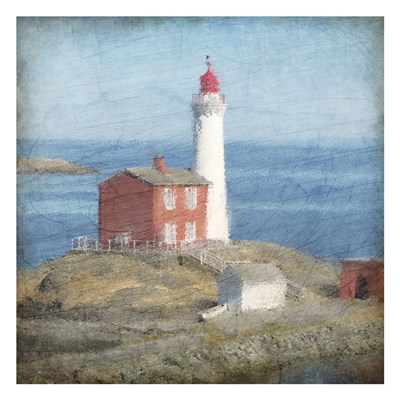 At The Lighthouse Poster by Kimberly Allen for $18.75 CAD
