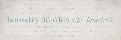 Definition Laundry Blue 2 Poster by Kristen Emery for $18.75 CAD