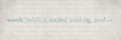 Definition Laundry Wash Blue 2 Poster by Kristen Emery for $18.75 CAD