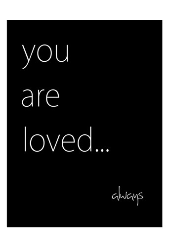 You Are Loved Poster by Kristen Emery for $22.50 CAD