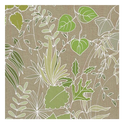 Linen Leaves 2 Poster by Lorraine Rossi for $18.75 CAD
