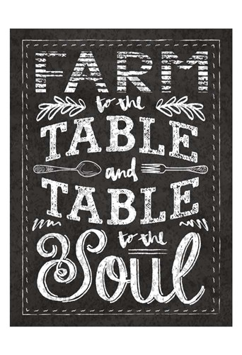 Farm Chalkboard 1 Poster by Melody Hogan for $22.50 CAD