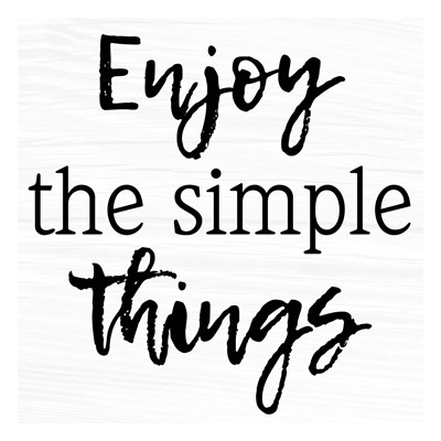 Simple Things Poster by Marcus Prime for $18.75 CAD
