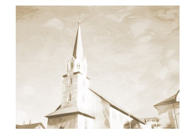 Sepia High Church Poster by Milli Villa for $22.50 CAD