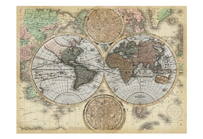 Ancient World Traveler Poster by Ophelia & Co. for $22.50 CAD