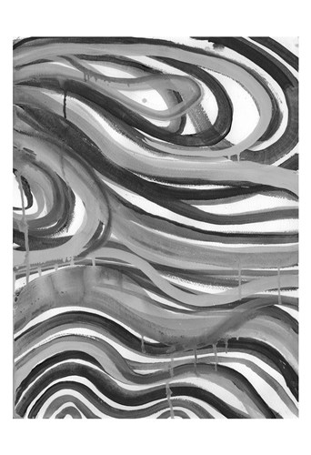 Charcoal Ripples 1 Poster by Smith-Haynes for $22.50 CAD