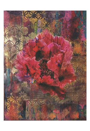 Vintage Florals 4 Poster by Smith-Haynes for $22.50 CAD