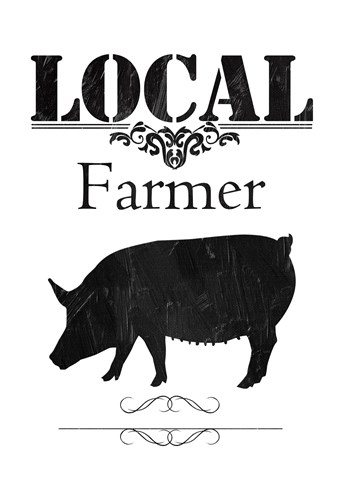 Local Farmer Poster by Sheldon Lewis for $22.50 CAD