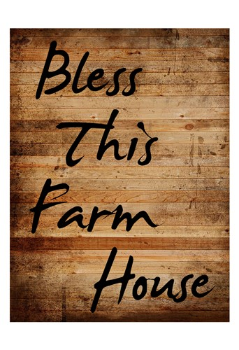 Bless This Farm House Poster by Sheldon Lewis for $22.50 CAD