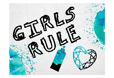 Girls Rule 2 Poster by Sheldon Lewis for $22.50 CAD