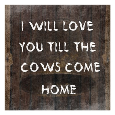 Cows Come Home Poster by Sheldon Lewis for $18.75 CAD