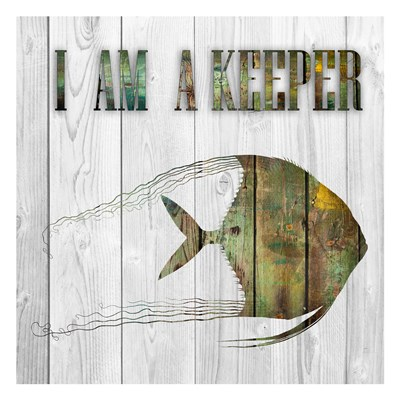 I Am A Keeper Poster by Sheldon Lewis for $18.75 CAD