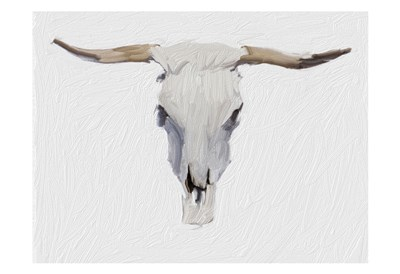 Alabaster Cow Skull Poster by Sarah Butcher for $22.50 CAD