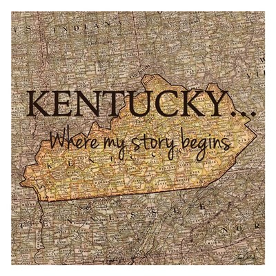 Story Kentucky Poster by Tina Carlson for $18.75 CAD