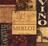 Wine Collage Red & White II