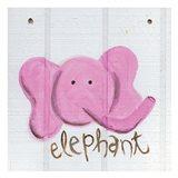 Happy Pink Elephant