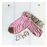 Happy Pink Zebra