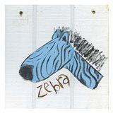 Happy Blue Zebra