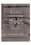 Books Soul BW