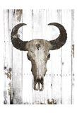 Bull Skull Brown