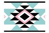 Aztec Teal Pink