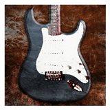 Rustic Electric Guitar