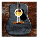 Rustic Acoustic Guitar
